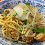 大原食堂 - スパゲッティーサラダ 380円安ー!