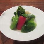 潮 - 「春野菜の煮浸し」