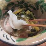潮 - 蛸の食感が良い