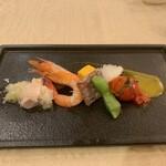 Ryuuhou - 前菜盛り