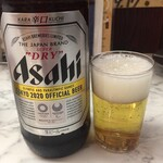 居酒屋大将別館 - 瓶ビール(大)