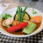 小林カレー - 料理写真:チキンカレーミニ!520