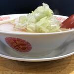 ラーメンの坊歩 - 鶏豚骨ラーメン650円