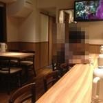 モトミヤ - カウンター&テーブル1卓