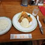 味のおぐら - おぐらのチキン南蛮¥1,050ライス付