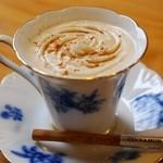 コーヒー店ぶれんど - ドリンク写真:カプチーノ