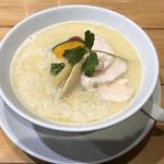 銀座 篝 - 鶏白湯soba