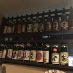 焼酎 酒々蔵 - カウンター内
