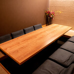 シーズン・ダイナー喜代 - 襖を取り外し全ての個室お座敷を接続することで最大22名様まで対応することができます。