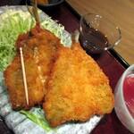 魚之屋 - アジフライ、サイズ