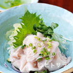 GON - 料理写真:名物白センマイ刺し