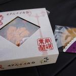 伊勢鮨 - ウニいくら丼(オープンプレゼントのクッキー入り