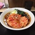 名代 富士そば - 桜小えび天そば 370円
