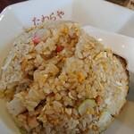 126570577 - 「チャーハン」(¥510-税込)です。わたしが食べているチャーハンでは最も安いです。美味しいですよ。年季の入っている鍋振りがポイントなのかな?ほんと美味しいです。ふわ・ぱら・しっとり3拍子揃ってます。