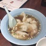 126573193 - ホタテ餃子 スープ