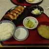 レストラン あさやホテル - 料理写真:肉「餃子定食