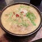 126576806 - チーズ担々麺のおうどん