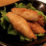アンズキッチン - 鶏皮餃子