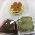御菓子司 寿々木 - 買い求めた生和菓子3品