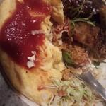レストラン ハッスル - ハッスル丼のケチャップライス