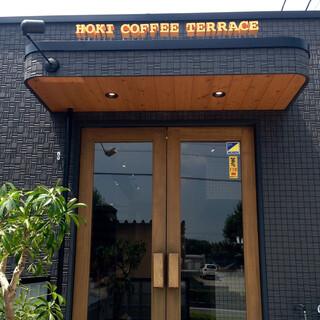 HOKI COFFEE TERRACE - 店舗入り口