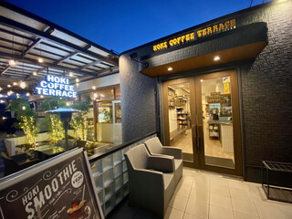 HOKI COFFEE TERRACE - 店舗外観(夜)