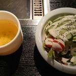 126587948 - サラダとスープ