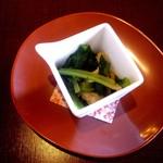 12659803 - 小松菜のおひたし