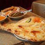 インドレストラン モティ - ナン