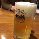 火焔山餃子房 - 生ビール