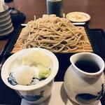 桃李庵 - 料理写真:今回はせいろ大盛りをいただきました(2020.3.2)