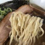 湖麺屋 リールカフェ - 豚煮干し 麺