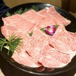 126596086 - 神戸牛と山形牛の食べ比べ