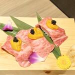 126596101 - 神戸牛トロ寿司