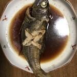 家庭料理 港鶴 - 旬の煮魚(黒ムツ)