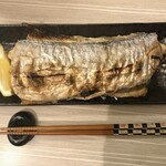 家庭料理 港鶴 - 太刀魚の塩焼き