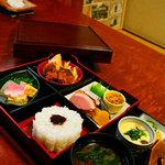 阿ら井 - お昼の松花堂弁当