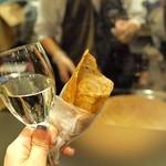 ヴァン ドゥ リュド - そば粉のガレットと白ワイン
