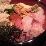 12660036 - ランチの上海鮮丼(1,200円)