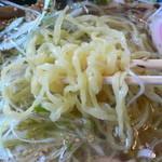 奥久慈ラーメン なかざわ - 麺とスープとの相性はいいよ!
