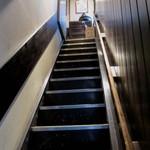 12660705 - 扉を開けると急な階段^^;