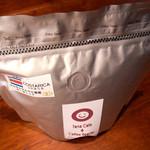 タナカフェプラスコーヒーロースター - コスタリカ「エルサルサルセロ農園」のコーヒー豆(200g : 1,200円)。