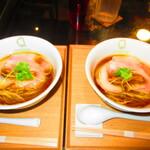 126602419 - フラッシュ使用 2人の醤油らぁ麺 1100円(税込)【2020年3月】