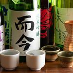 もつ焼き いしん - 全国地酒(日本酒)