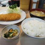126612607 - ヒレカツ定食