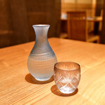 馳走ダイニング文蔵 - 山川流(一合)@900円:愛媛より。純米 しぼりたて 生酒。