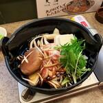 126618786 - 鶏すき焼。780円