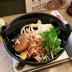 Kurashikishubougen - 鶏すき焼。780円