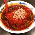 台湾料理天龍 - 料理写真:台湾ラーメン超辛口