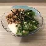 家庭料理 港鶴 - ネバネバ3種